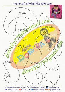 Miss Dorita: Draculaura molde 1