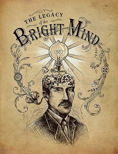 The Legacy of the Bright Mind by enkel dika, via Flickr