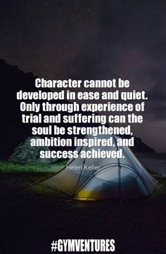 Some wise words from Hellen Keller.