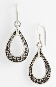 Lois Hill Open Teardrop Earrings available at #Nordstrom
