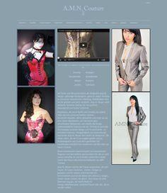 Referenz AMN-COUTURE Social Media, Shopping, Haute Couture, Projects, Social Networks, Social Media Tips