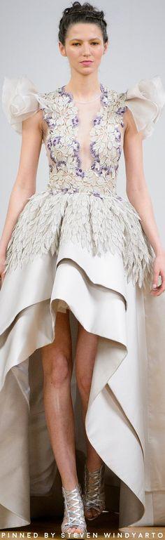 Dany Atrache Spring 2017 Couture Fashion Show #hautecouture #womenswear #ss17 #spring2017 #danyatrache