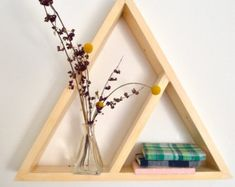 Geometric Shelf II by The807 on Etsy
