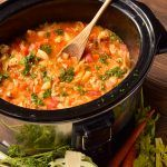 cabbage roll soup in slow cooker