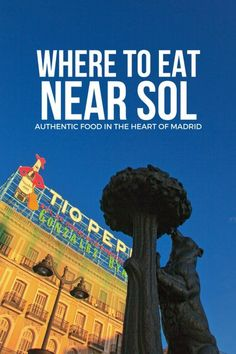 The Puerta del Sol is Madrid's tourist center. So where do you find good tapas and authentic restaurants in an area with so many tourist traps? Just follow our travel guide of where to eat near Sol and you'll be in great hands. Have a delicious trip! #tapas #foodie #foodblog #delicious #spain #europe #travelideas