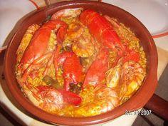 Gastronomia murciana - Pedro Chico: Arroz con bogabante del Puerto
