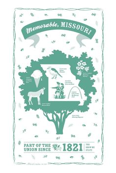 MISSOURI STATE KITCHEN TEA TOWEL