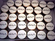 Corporate cupcakes for Wila Lighting #yummiliciouscakes