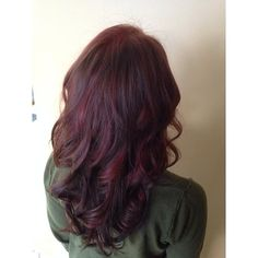 Burgundy and chocolate brown panels throughout the whole head