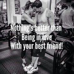 Love Gym Couple Parejas En Buena Forma Parejas De Fitness Pareja