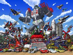 Micromasters Autobot All Stars by ~hansime on deviantART