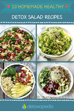 A curated list of best detox salad recipes on the net!