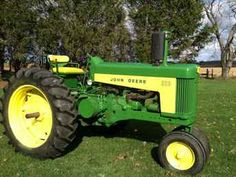 John Deere two cylinder model 630 narrow front row crop