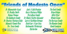 Thank you to our Brenda Athletic Club's 50th Annual Modesto Open Tennis Tournament Sponsors!