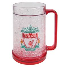#livepoolfcPersonlised Liverpool Frosted Tankard
