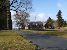 Church and parish house. Modern.