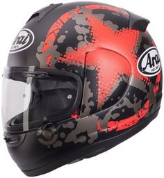 Arai Axces II Comet Red