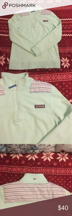 VINEYARD VINE Mint Shep Shirt In excellent used condition. No flaws. Vineyard Vines Tops