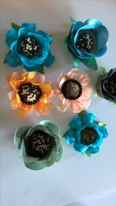 Impress Your Guests With Nezzy's Amazing handmade candy wrappers for your chocolate truffles