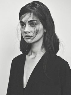 Antonina Vasylchenko in Intermission Magazine, May 2013. Love her brows!