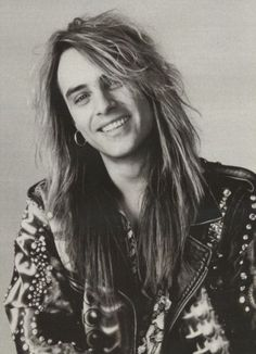 Andi Deris - Helloween. The smile is endearing.