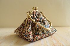 Vintage 1940's  Evening Pouch Clutch by GracedVestige on Etsy