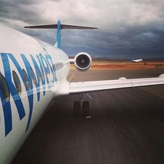 Skywest Airlines (Australia) Fokker 100 @courteneyellett