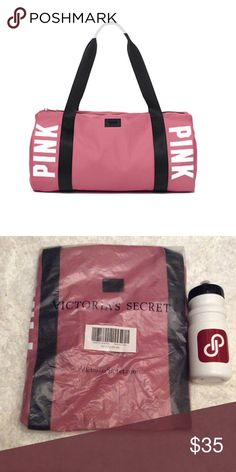 """🆕 Victoria's Secret PINK Gym Duffle Bag 🆕 Victoria's Secret PINK Gym Duffle Bag. Color is Soft Begonia. Material is Imported Polyester. Perfect for gym or quick getaways. Top Zipper Closure. Measurements are 18"""" Length X 9 1/2"""" Height. 🚫 NO TRADES OR OFFERS🚫PRICE IS FIRM🚫 PINK Victoria's Secret Bags Travel Bags"""