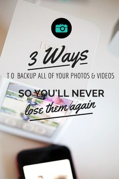 Never lose your precious photos again! Automatically backup all of your cell phone pictures. Here are three ways you need to be backing up your photos and videos. The easiest and best ways to save your memories.