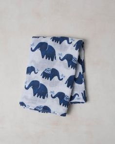 Little Unicorn Cotton Muslin Swaddle - Indie Elephant - Bern Baby Outfitters Christening Gifts For Boys, Baby Shower Gifts For Boys, Baby Gifts, Toddler And Baby Room, Baby Boy Or Girl, Muslin Blankets, Muslin Swaddle Blanket, Elephant Blanket, Elephant Print