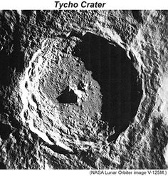 Extraterrestrial ImpactCraters: the Moon's Tycho!