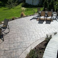 diy concrete patio patterns winter showroom blog patio ideas