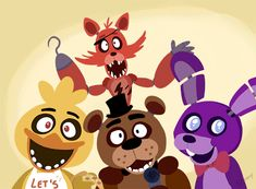 Five Nights at Freddy's. that game is so scary, like, i cover my ears like a cheater to me.