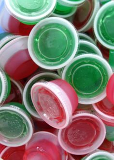 Pack portable jello shots in your team colors. | 41 Tailgating Tips That Are Borderline Genius