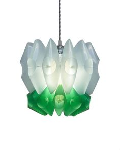 LampeCellule  upcycled lamp PET plastic bottle light by GinoRizzi, €235.00