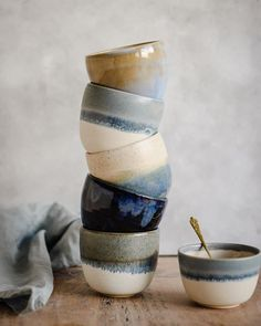 Main Collection Handmade Pottery Kara Leigh Ford Ceramics Home ceramic pottery Pottery Mugs, Pottery Bowls, Ceramic Pottery, Thrown Pottery, Pottery Shop, Slab Pottery, Pottery Wheel, Glazed Pottery, Pottery Painting Designs