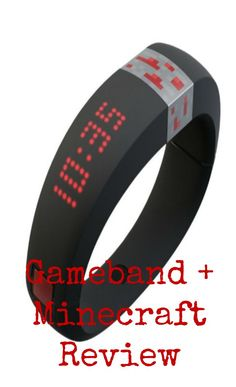 gameband + minecraft review . If you love minecraft this ais a fabulous new addition...take your minecraft worlds with you wherever you go