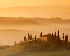 Pienza, Italy - The most beautiful scenery in the world - Free Download Wallpapers