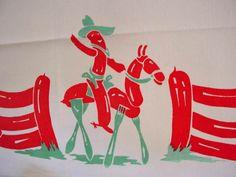 Wiener picnic tablecloth