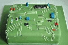 Engineers cake