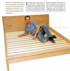 DIY Bed Frame - Furniture Plans