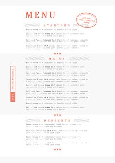 Easy to edit, customizable restaurant templates and a full suite of tools you can use online. Restaurant Menu Template, Restaurant Menu Design, Menu Maker, Recipe Design, Cafe Menu Design, Menu Layout, Menu Templates, Brand Inspiration, New Menu