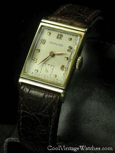 4abe6d7b31f Vintage Hamilton Watches...my Dad s watch. I loved it.
