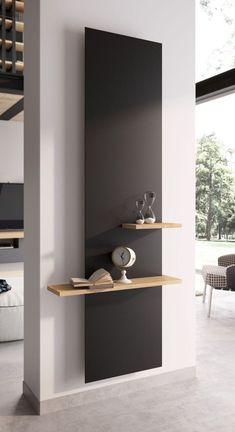 Home Room Design, Home Interior Design, Interior Decorating, Design Bathroom, Bathroom Art, Decorating Ideas, Bathroom Wall Shelves, Wall Shelves Design, Shelf Wall