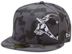 Black Post 59Fifty Fitted Cap by METAL MULISHA x NEW ERA db78367f350b