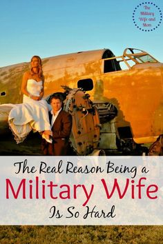 So true! Ever wonder why being a military wife is so hard? Here's your answer.
