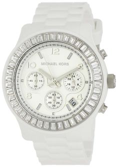 michael kors designer watches neqq  Michael Kors Watches Ladies Glitz Chronograph White Dial Watch MK5396 :  Disclosure: Affiliate link $16498