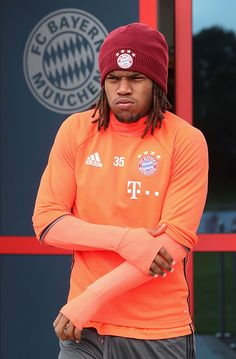 Renato Sanches of FC Bayern Muenchen arrives for a training session at the Saebener Strasse training ground on October 13 2016 in Munich Germany