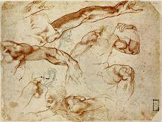 Sketch Style : Michelangelo