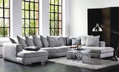 the perfect sofa! Modul Sofa, 3d Studio, White Houses, Home Interior Design, Home Projects, My House, Home Furniture, Living Room Decor, Outdoor Living
